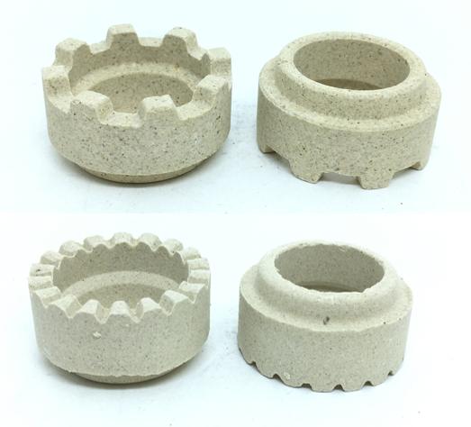 coroa ceramica quadrado