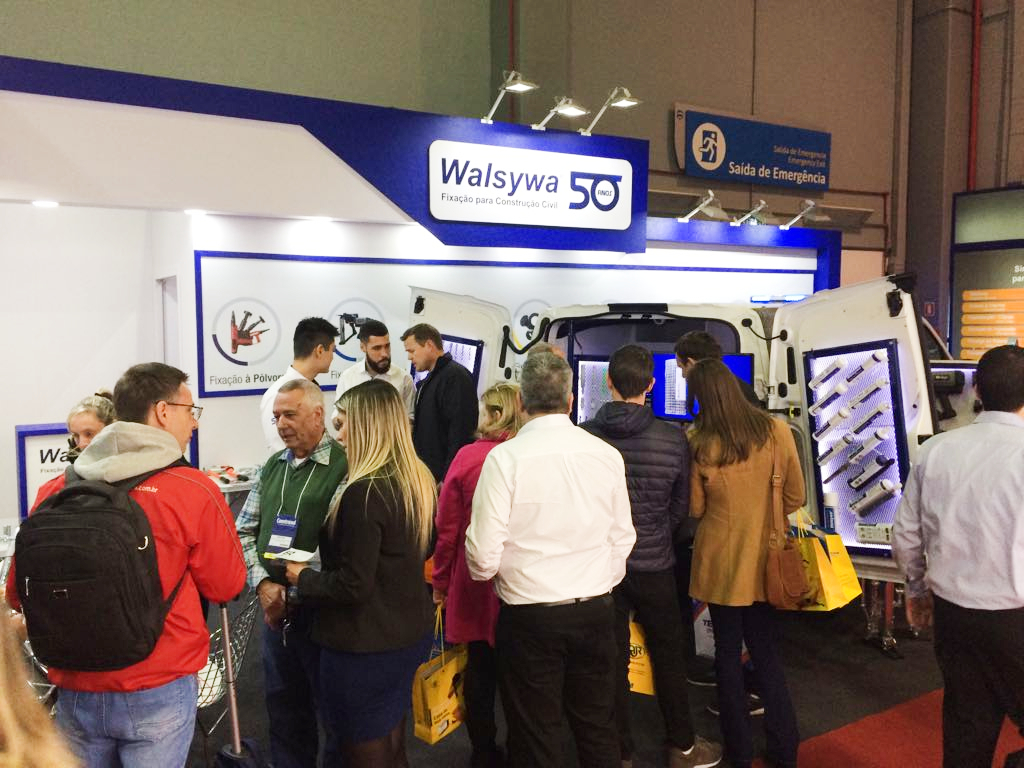 Walsywa apresenta soluções inovadoras na Construsul